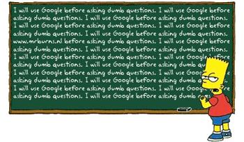 """""""Aš naudosiuosi """"Google"""" prieš užduodamas kvailus klausimus..."""""""