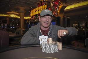 Scott Carroll, winner of Event #5.