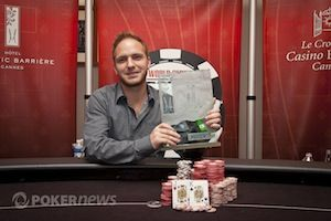 Champion of the WSOP Europe €50,000 Majestic High Roller, Mike Watson
