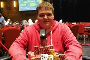 Matthew O'Brien, winner of Event #4
