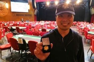Victor Chen, winner of Event #6