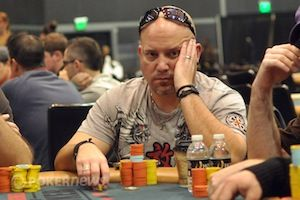Lee Childs at the WSOP Circuit Hammond