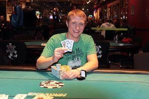 Daniel Gilmer, winner of Event #6.