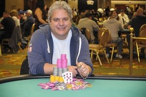 Alan Cutler, winner of Event #6.