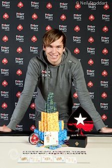 Martin Finger won the EPT8 Prague for 720,000.