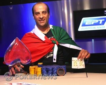 Salvatore Bonavena won EPT5 for 774,000.