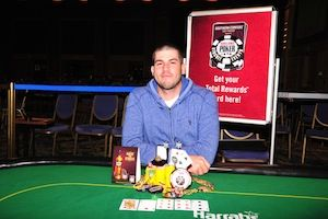 Michael Wynn, winner of Event #4.