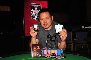 Jimmy Nguyen, winner of Event #6.