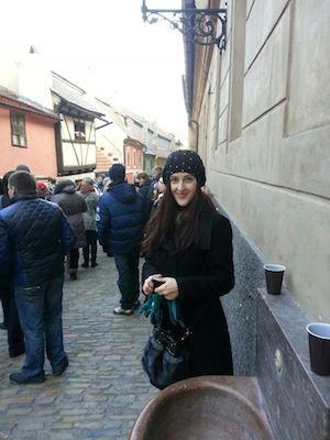 Hana Čermáková was my lovely travel guide