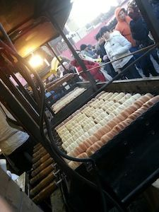 Some of the delicious Trdelnik