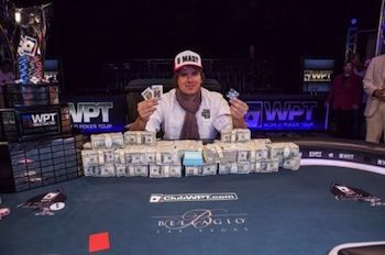 Rettenmaier after winning $25,000 WPT World Championship