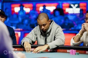 Ivey at the final table of WSOP Event 24