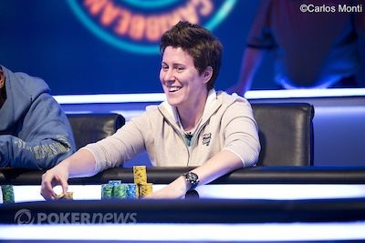 Vanessa Selbst was the first woman to ever play the PCA $100K