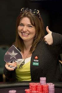Adrienne 'talonchick' Rowsome. Picture courtesy of PokerStars Blog.