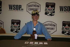Wendy Freedman, winner of Event #2.