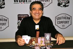 Amir Ghazvinian, winner of Event #4.