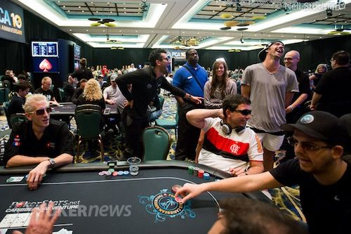 The Biggest Hands from 2013 PCA Main Event & K High Roller 101