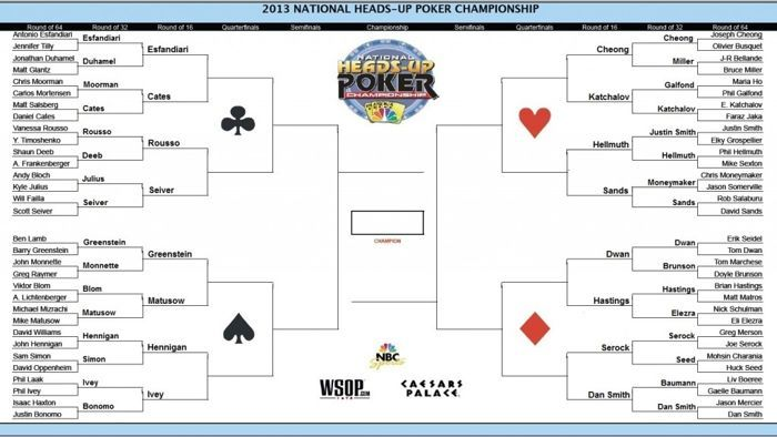 NBC National Heads-Up Poker Championship -- Round of 32 & 16 102