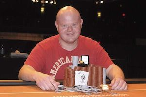 Lee Sawyer, winner of Event #3.