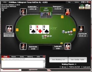 The Titan Poker client.