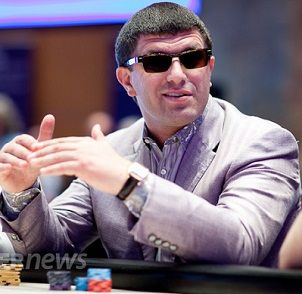 Leon Tsoukernik at the PokerStars and Monte-Carlo® Casino EPT Grand Final €100,000 Super High Roller
