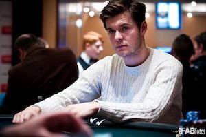 Lukas Berglund. Photo courtesy of WPT.