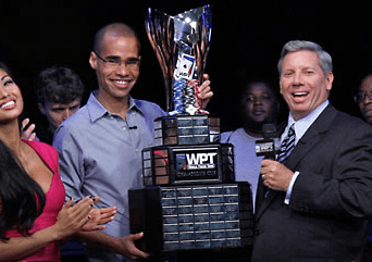 Anthony Gregg. Picture courtesy of the WPT Blog.