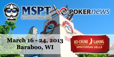 Follow the PokerNews MSPT Ho-Chunk Main Event Action Here (Updated 22:00 CT) 101