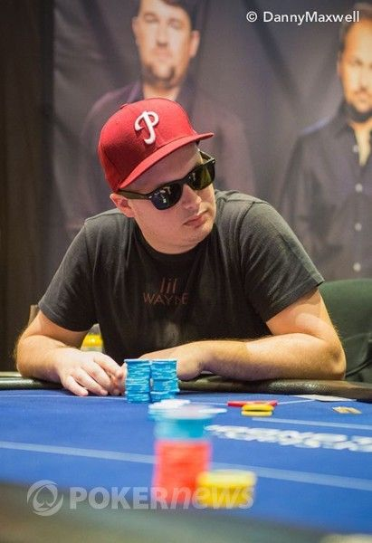 Paul Volpe during the EPT London High Roller