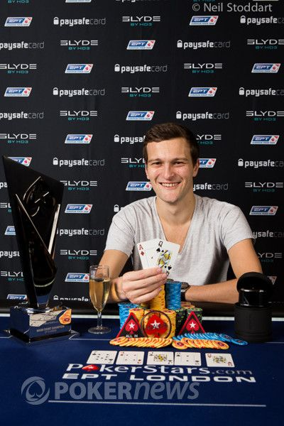 Ruben Visser -- winner of the EPT London Main Event
