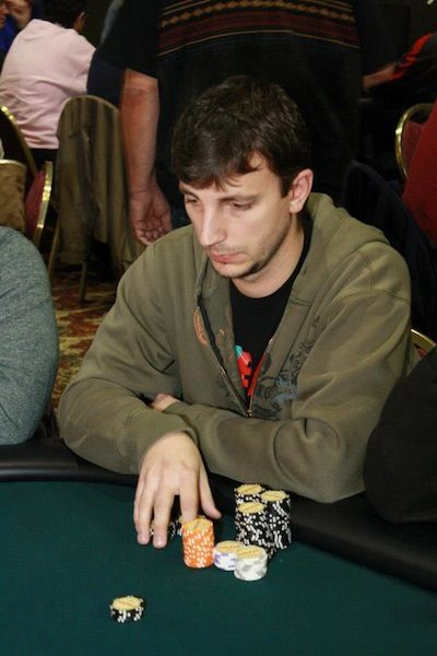 Local player Dan Almerli