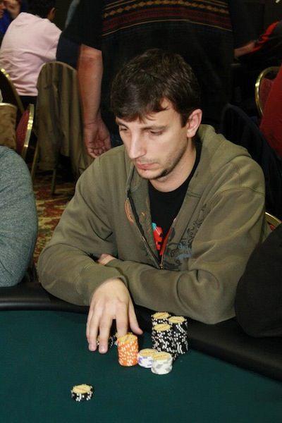 Local player Dan Almerli