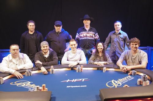 The HPT Belterra final table.