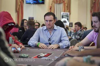 Frankenberger at the WSOP Europe