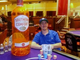 Ray Henson won Event #3 $365 PLO for his third ring. Photo courtesy of WSOP.