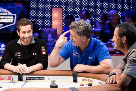 2010 WSOP Champ Duhamel with Brad May and Canadians legend Guy Charbonneau