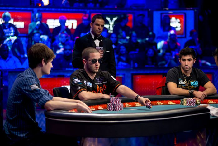 At the 2012 WSOP Main Event final table three-handed play began at dinner time on Tuesday and nearly lasted until dawn the next day.