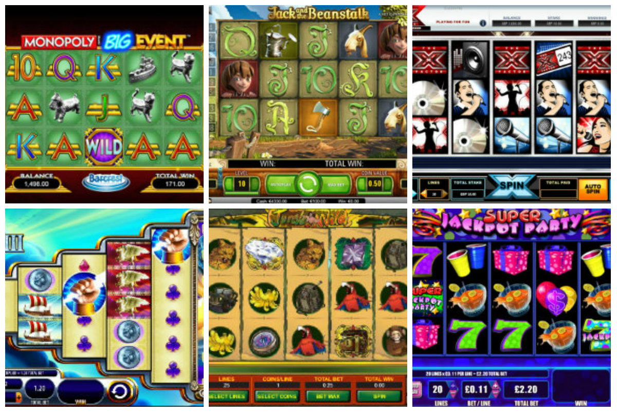 slots games to play for free