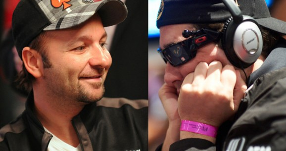 PokerNews Fan Bracket Championship: Phil Hellmuth vs. Daniel Negreanu