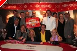 Das Charity Pokerevent während der CAPT Innsbruck - Nationale Stars am Pokertisch