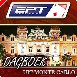 EPT Monte Carlo Dagboek - Als u rechts kijkt, dan ziet u…