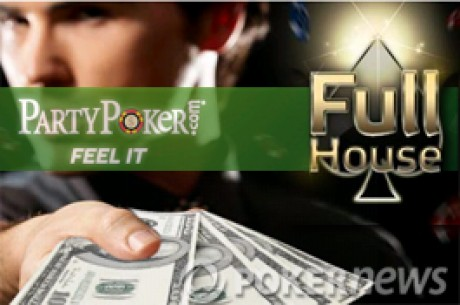 Party Poker Full House : 1,6M$ de prix du 1er au 31 décembre 2009