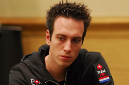 Lex Veldhuis verzamelt gigantische stack in High Roller op de PCA