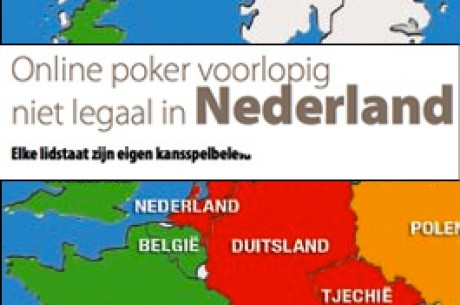 """Online poker voorlopig niet legaal in Nederland """"Elke lidstaat zijn eigen kansspelbeleid"""""""