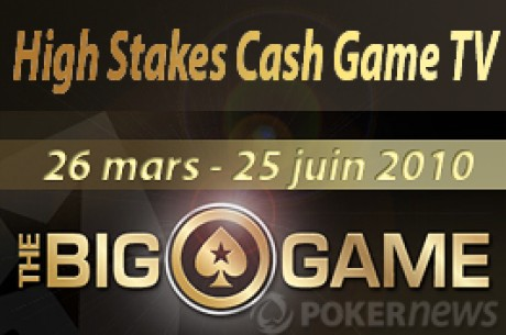Pokerstars Big Game High stakes cash game tv show