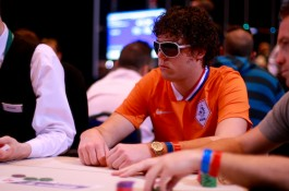 PokerStars.com EPT Monte Carlo; Paul Berende bij de chipleaders