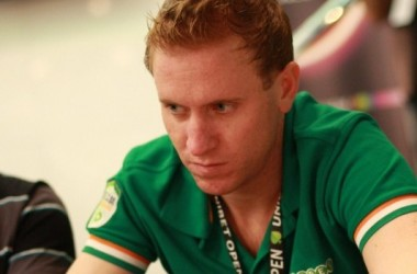 Unibet Open Valencia - Tim van de Riet chipleader van het toernooi