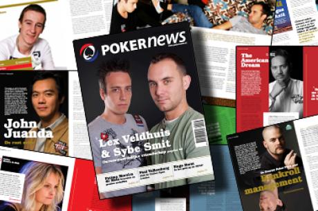 PokerNews Magazine: neem nu een abonnement voor €16,95 per jaar