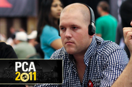 PCA Main Event - Pieter de Korver als de chipleader naar dag twee