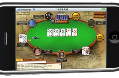 iPhone Poker :  toutes les poker rooms avec Team Viewer
